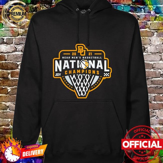 Baylor bears 2021 ncaa men's basketball national champions triple threat hoodie