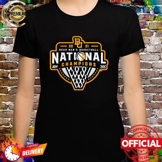 Baylor bears 2021 ncaa men's basketball national champions triple threat shirt
