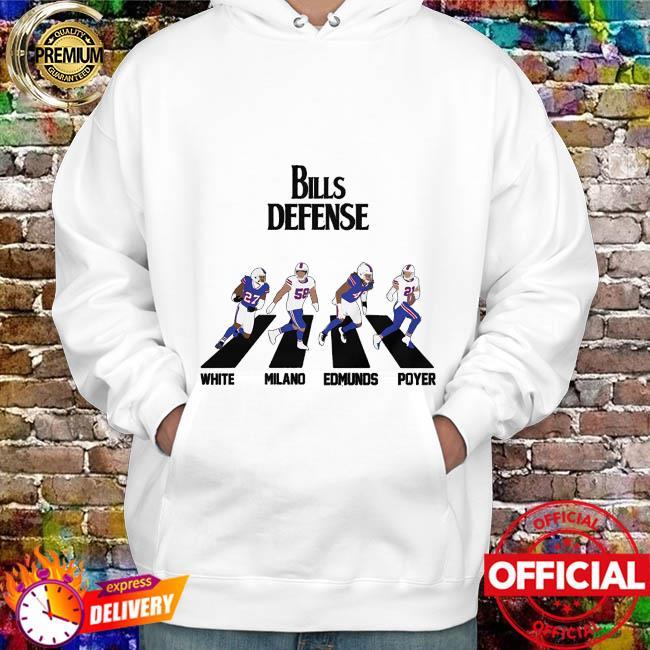 Bills Defense Abbey Road hoodie