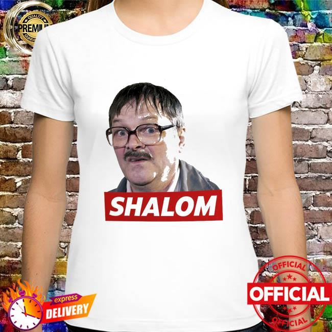 Friday night dinner jim bell shalom shirt