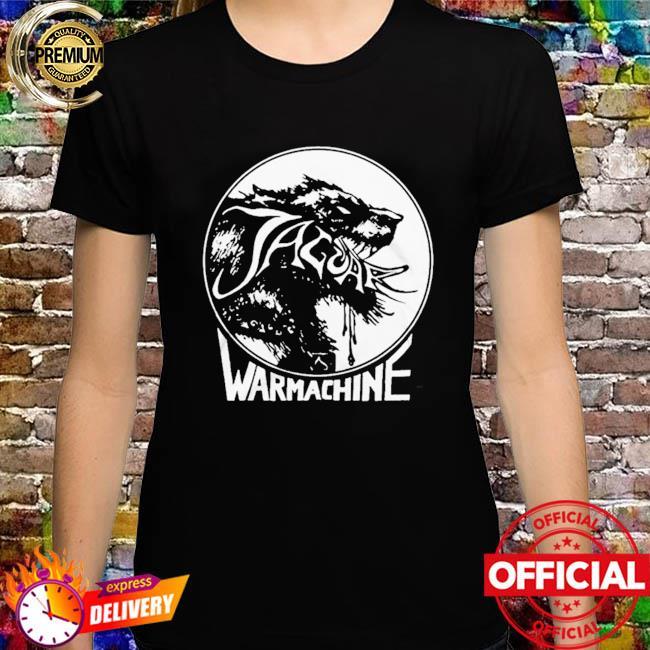 Jaguar war machine shirt