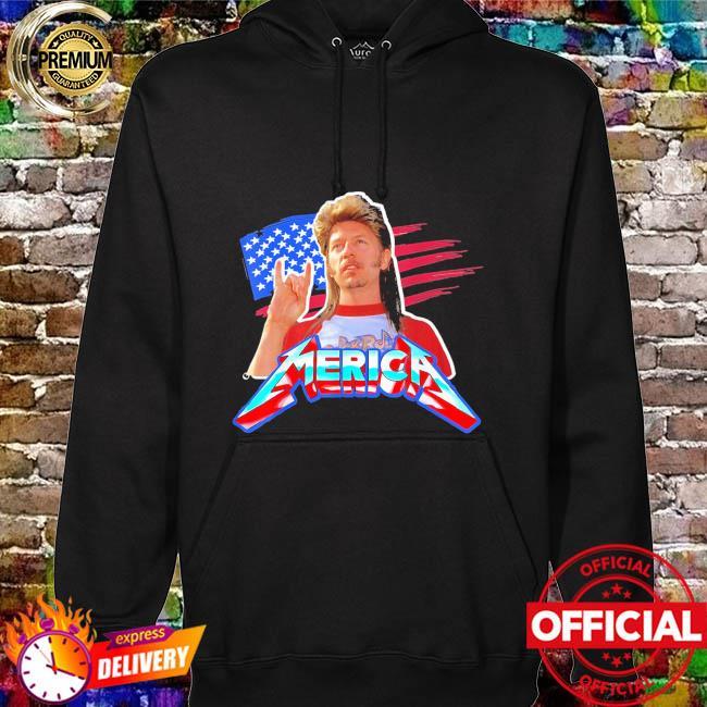 Joe dirt 4th of july bleached American hoodie