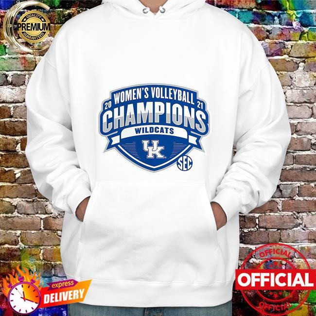 Kentucky Wildcats 2021 SEC Women's Volleyball Season Champions hoodie