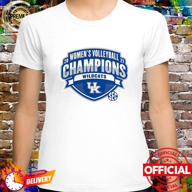 Kentucky Wildcats 2021 SEC Women's Volleyball Season Champions shirt