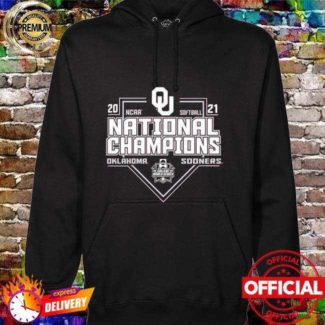Oklahoma sooners 2021 ncaa softball college world series champions hoodie