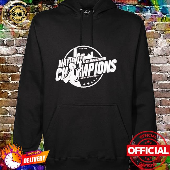 Oklahoma Sooners 2021 ncaa softball women's college world series champions steal hoodie