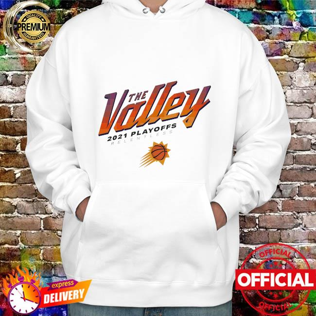 Phoenix suns sportiqe 2021 nba playoffs comfy tri-blend hoodie