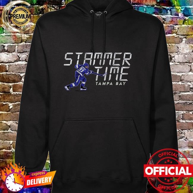 Stammer Time Steven Stamkos Tampa Bay Lightning hoodie
