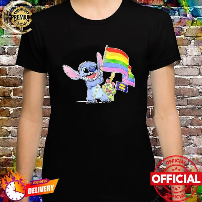 Stitch Support LGBT And Human Rights Love Wins Shirt