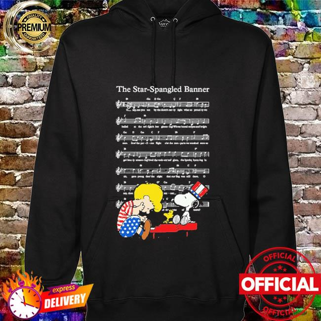 The star-spangled banner snoopy independence day 4th of july hoodie