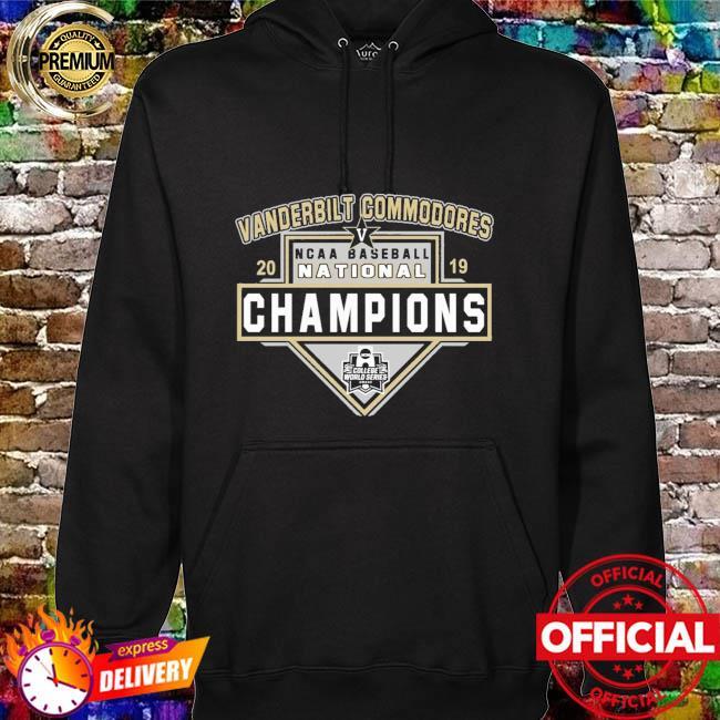 Vanderbilt Commodores 2019 Ncca Baseball champions hoodie