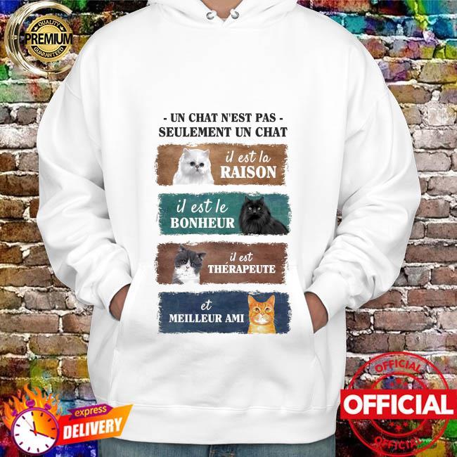 Cat Un chat n'est pas seulement un chat hoodie