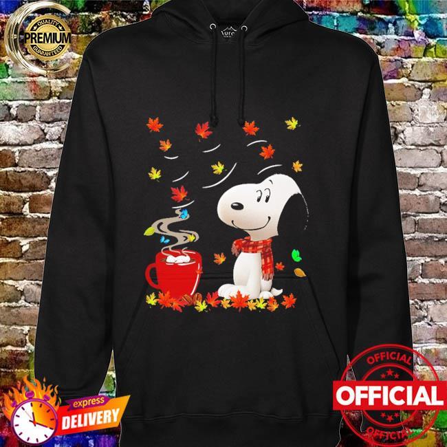 SNoopy drink Coffee Autumn hoodie