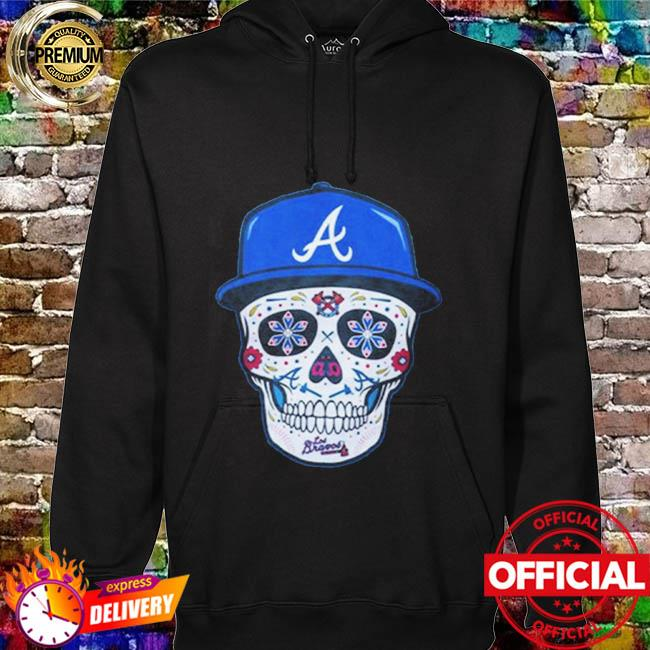 Chris Martin Atlanta Braves Sugar Skull Shirt hoodie