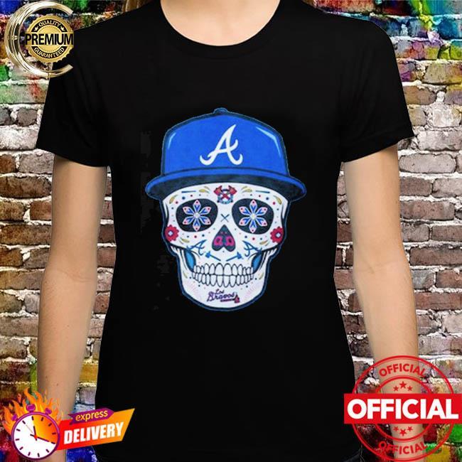 Chris Martin Atlanta Braves Sugar Skull Shirt