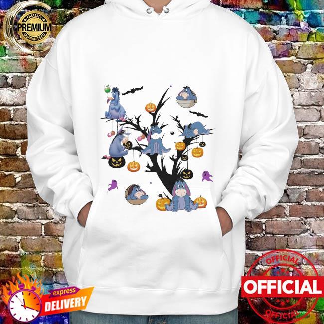 Eeyores Pumpkin Tree Halloween Shirt hoodie
