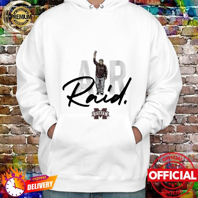 Mississippi State Bulldogs Mike Leach Air Raid Shirt hoodie